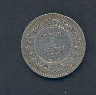 TUNISIE - 2 Francs -1892 Argent - Tunisie