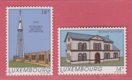 1991 ** (sans Charn., MNH, Postfrisch)  Yv  1223/4Mi  1273/4 - Luxemburg
