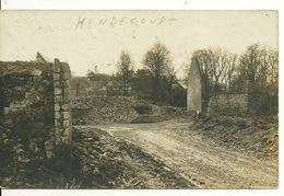 62 - HENDECOURT / CARTE PHOTO ALLEMANDE - France