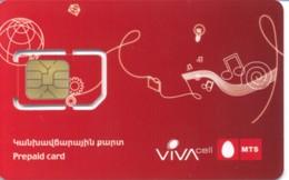 ARMENIA / MTS Viva Cell / GSM Sim-card /  MINT - Arménie