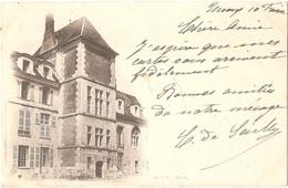 Dépt 77 - MEAUX - Voyagée En 1901 à Destination De La Roumanie - Meaux