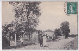 Conflans-Sainte-Honorine - Chennevières - Villa Des Fleurs, Route De Paris Et D'Herblay - Attelage De Cheval - Conflans Saint Honorine