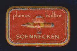 BOITE De PLUMES BALLON SOENNECKEN   7 Cm X 4,5 Cm X 2 Cm - Plumes