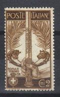 ITALIE  N° 88* (1911) - 1900-44 Vittorio Emanuele III