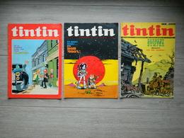 Tintin - Lot De 3 Revues - BARNABY BUMPER - BOB MOON - CLIFTON - 1972 - Publicités Diverses - Tintin