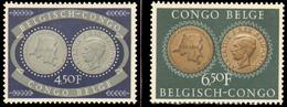 Congo 0327/8* - 25eme Institut Colonial - H - - 1947-60: Neufs