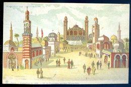 Cpa Contre La Lumière , Regardez Par Transparence Exposition 1900 Paris Le Trocadéro Pendant L' Exposition   GX19 - Contre La Lumière