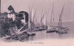 France 74, Port De Meillerie Et Bateaux De Pêches Du Léman (5418) - Autres Communes