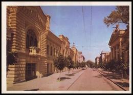 MOLDOVA (USSR, 1974). KISHINEV - CHISINAU. CITY HALL IN 28th JUNE STREET. Unused Postcard - Moldavie