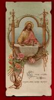 Image Pieuse Holy Card Ciselée Communion Germaine Boireau Confolens 20-05-1909 - Ed ? Imp. Dupont - Imágenes Religiosas