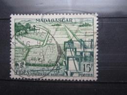 "VEND BEAU TIMBRE DE MADAGASCAR N° 330 , CACHET "" TAMATAVE "" !!! - Used Stamps"