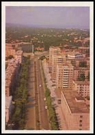 MOLDOVA (USSR, 1974). KISHINEV - CHISINAU. NEGRUZZI BOULEVARD, AERIAL VIEW. Unused Postcard - Moldavie