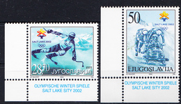 OLYMPIC-YUGOSLAVIA MI 3058 SALT LAKE SITY - Winter 2002: Salt Lake City