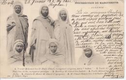 CPA INSURRECTION DE MARGUERITTE LES 6 PRINCIPAUX INCULPES - Algérie