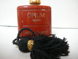 "YVES SAINT LAURENT ""OPIUM"" MINI PARFUM   3,5 ML BON ETAT  LIRE ET VOIR!! - Modern Miniatures (from 1961)"