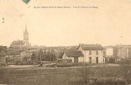 Cpa St Hilaire La Palud La Gare - France