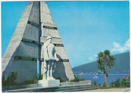 Gagra - The Monument To The Soldiers Fallen In The Great Patriotic War - Abkhazia, Russia CCCP - Rusland