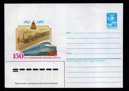 EISENBAHN – GANZSACHE – UdSSR (10-111) - Treni