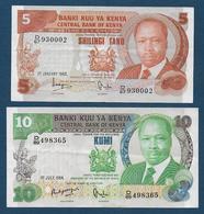 KENYA - Lot De 2 Billets - Kenya