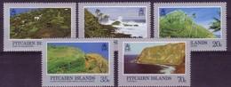 PITCAIRN ISLANDS 1981 MNH, SG 211/215 - Pitcairn Islands