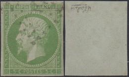 """Colonies Françaises 1871 - Yvert N°8 Non Dentelé Oblitéré - Signé """" CALVES """" (6G23606) DC0781 - Napoleon III"""