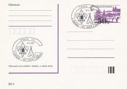 I0278 - Tchécoslovaquie (1991) Praha 114: Rencontre Des Scouts Et Des Guides - American Indians