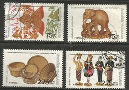 Thailand - 1981 Handicrafts Exhibition Used    Sc 954-7 - Thailand