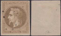 Colonies Françaises 1871 - Yvert N°9 Non Dentelé Oblitéré -  (6G23606) DC0782 - Napoleon III