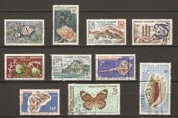 Nouvelle-Calédonie 1959/69 - Petit Lot De 10° - Timbres