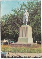 Izmail - Taras Shevchenko Monument - (Ukrain, USSR) - Oekraïne