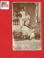 Photo Famille SANNOIS Dimanche 19 Août 1928 Perron Maison 7,5 Cm X 12 Cm - Sannois