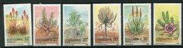 Zimbabwe ** N° 158 à 163 - Variétés D' Aloès - Zimbabwe (1980-...)