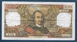 France - 100 F  Corneille  Du  5 - 11 - 1970 - 1962-1997 ''Francs''