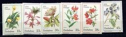 Zimbabwe ** N° 174 à 179 - Fleurs Sauvages - Zimbabwe (1980-...)