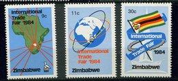 Zimbabwe ** N° 60 à 62 - Foire De Zimbabwe - Zimbabwe (1980-...)
