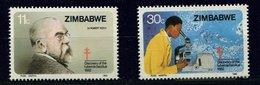 Zimbabwe ** N° 43 - 44 -  Robert Koch - Zimbabwe (1980-...)