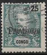 Portuguese Congo – 1902 King Carlos Overprinted PROVISORIO - Congo Portoghese