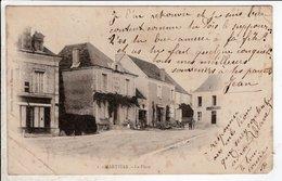 Cpa Carte Postale Ancienne  - Martizay La Place - France
