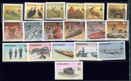 Zimbabwe ** N° 192 à 209 - La Vie Au Zimbabwe , Animaux , Arts, Etc... - Zimbabwe (1980-...)
