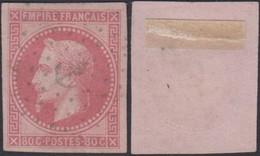 """Colonies Françaises 1871 - Yvert N°10 Non Dentelé Oblitéré """" Ancre Superbe """" (6G23606) DC0783 - Napoleon III"""