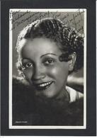 Autographe Signature à L'encre Sur Carte Postale Carol King - Autographes