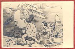 DUBROVNIK - RAGUSA - Karikatura - Cartoon. Croatia A182/08 - Croatia