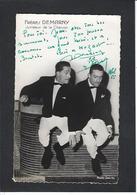 Autographe Signature à L'encre  Les Frères DEMARNY - Autographes