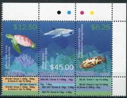 Samoa 2015 Yvertn° 1158-1160 *** MNH Cote 100 Euro Faune Poissons Vissen Fish - Samoa