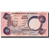 Billet, Nigéria, 5 Naira, Undated 1984-2001, KM:24e, NEUF - Nigeria