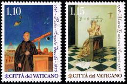 Vatican 2018 Mi 1937-1938 Science And Faith: Maria Gaetana Agnesi And Fr. Angelo Secchi - Nuevos