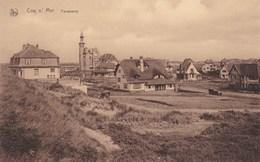 Coq-s-mer-De Haan/ Route Royale-Koninklijke Baan-Panorama + Ou - 1920 - De Haan