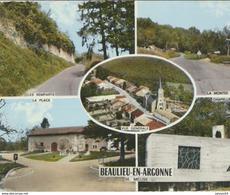 55) BEAULIEU-en-ARGONNE :  Multi-vues - Remparts, Vue Générale, Place, Chapelle, Montée - Other Municipalities