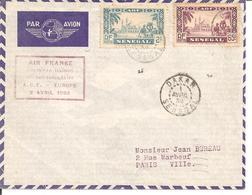 Belle Enveloppe Circulée DAHOMEY .  PARFAIT ETAT - Senegal (1887-1944)