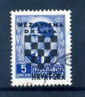 1941 CROAZIA N.16 USATO - Croazia